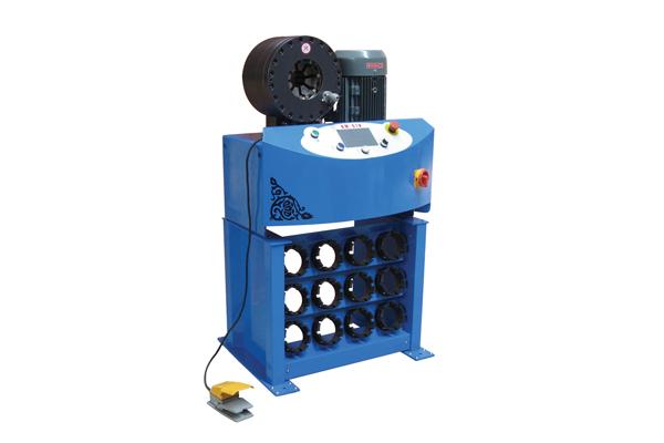 Hoge druk hydraulische slang plooiende machine voor kleine bedrijven promotie
